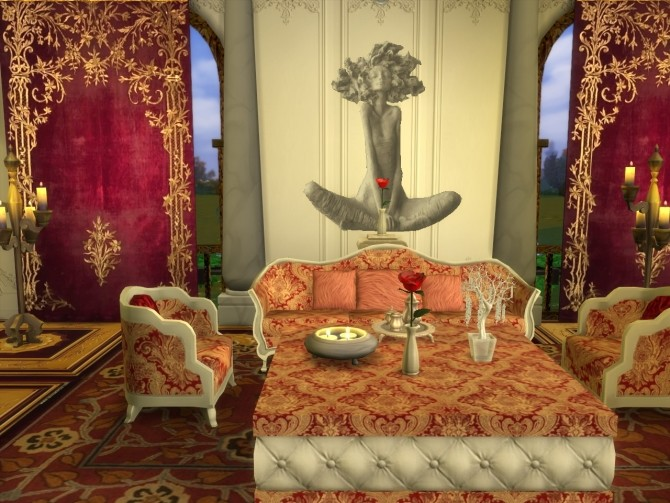 Everlasting Silverado Set Sofa, ArmChair, Table and Sculptures at Anna Quinn Stories image 1552 670x503 Sims 4 Updates