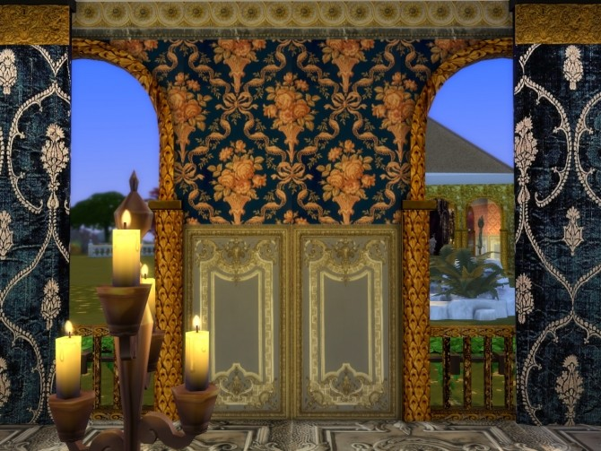 Victorian Flowers For Your Walls at Anna Quinn Stories image 1562 670x503 Sims 4 Updates