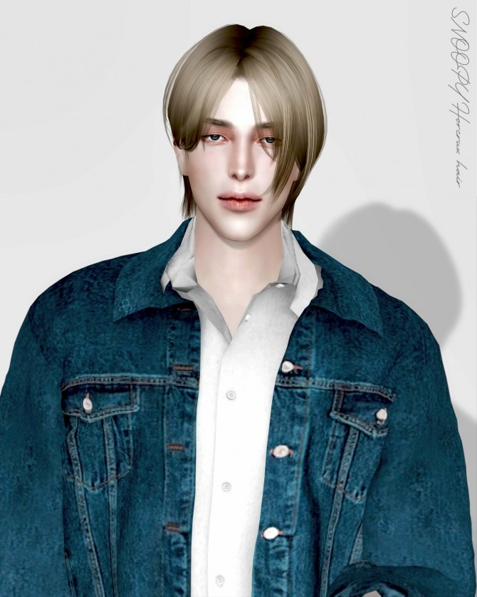 Sims 4 Horcrux hair at SNOOPY