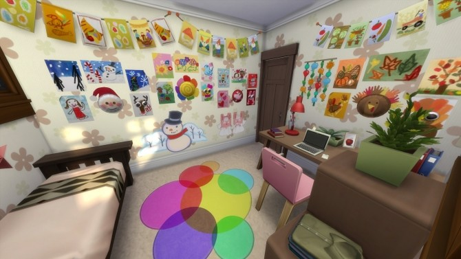 Sims 4 Seasons Small Home by lovebl4ever79 at Mod The Sims