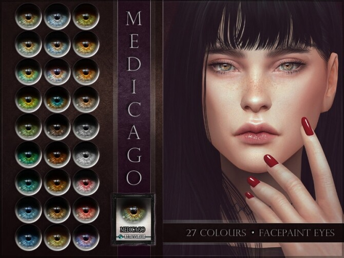 Sims 4 Medicago Eyes by RemusSirion at TSR