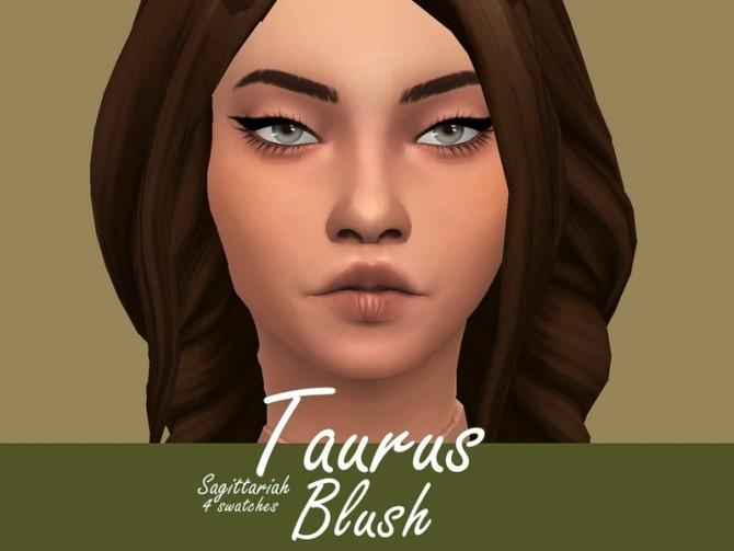Sims 4 Taurus Blush by Sagittariah at TSR