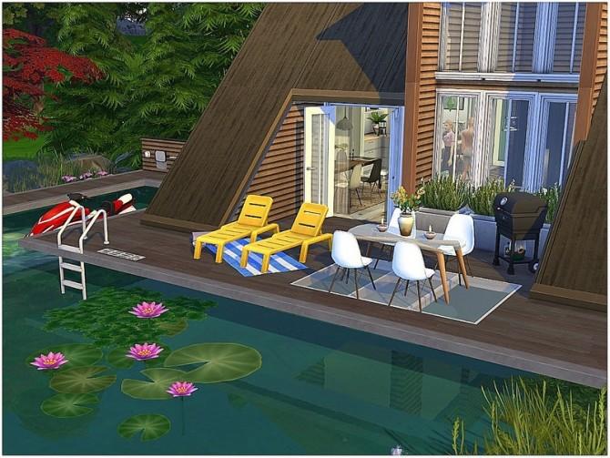 Summer Lake House by lotsbymanal at TSR image 16101 670x503 Sims 4 Updates