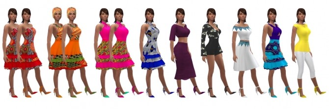 Sims 4 MADLEN'S LANA SHOES at Sims4Sue
