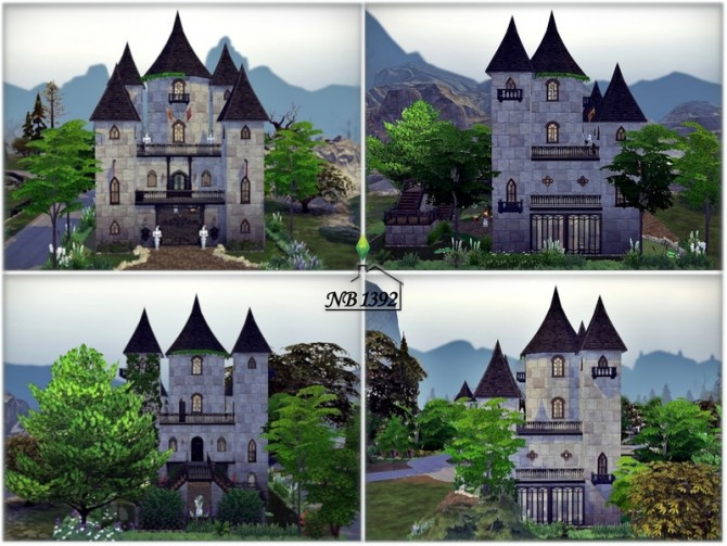 Ophelia Castle by nobody1392 at TSR image 1617 670x503 Sims 4 Updates