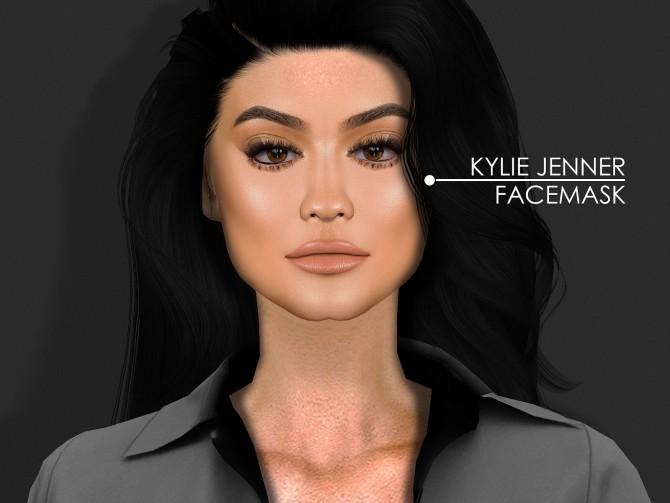 Sims 4 KYLIE JENNER SIM & SKIN at REDHEADSIMS