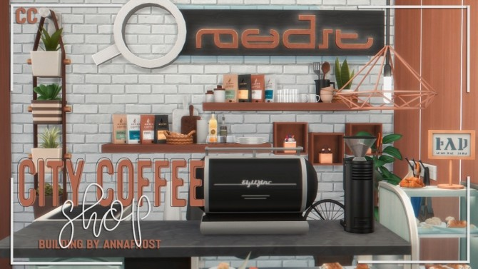 City Coffee Shop at Anna Frost image 16215 670x377 Sims 4 Updates