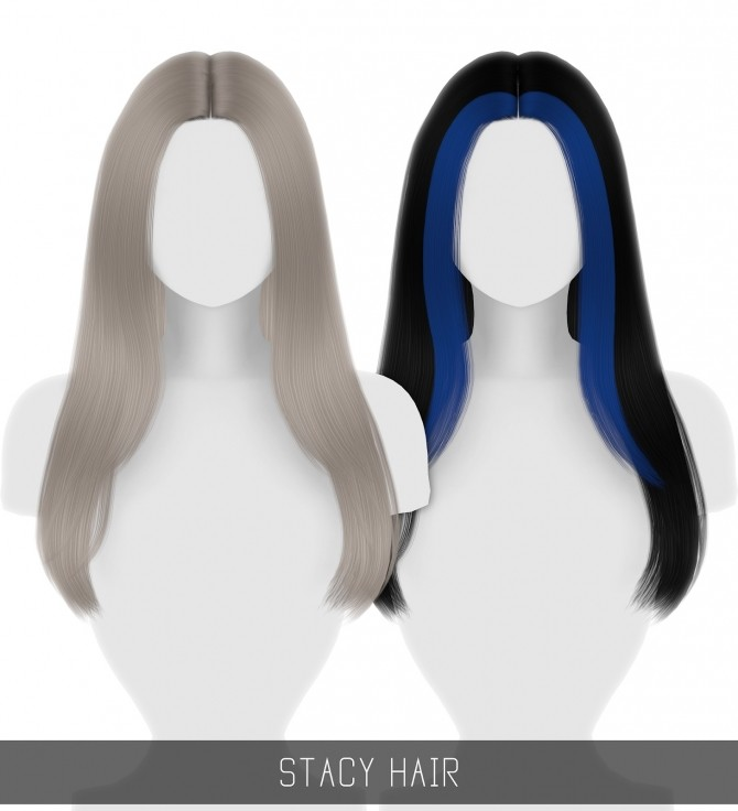 Sims 4 STACY HAIR at Simpliciaty