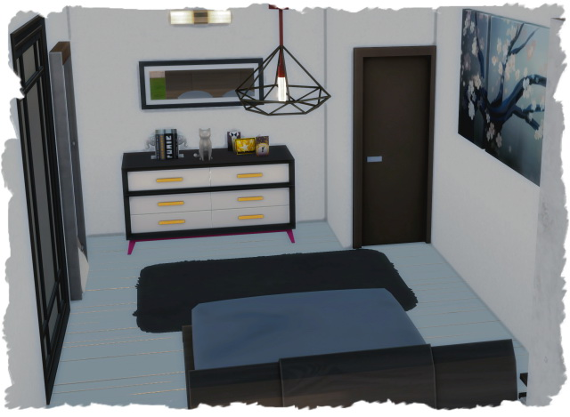 Sims 4 Small modern house by Chalipo at All 4 Sims