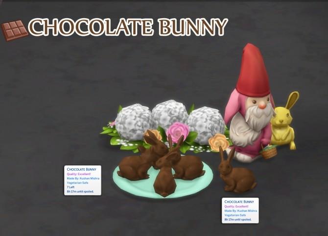 Sims 4 CHOCOLATE BUNNY at Icemunmun