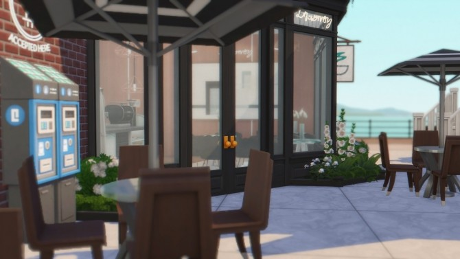 City Coffee Shop at Anna Frost image 16313 670x377 Sims 4 Updates