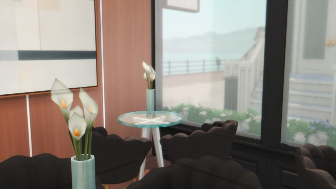 Sims 4 City Coffee Shop at Anna Frost