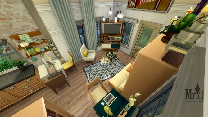 Sims 4 Carmen micro house at Mister Glucose