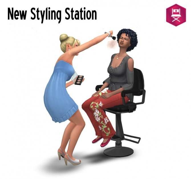 Barber chair as Styling Station at Around the Sims 4 image 1691 670x628 Sims 4 Updates