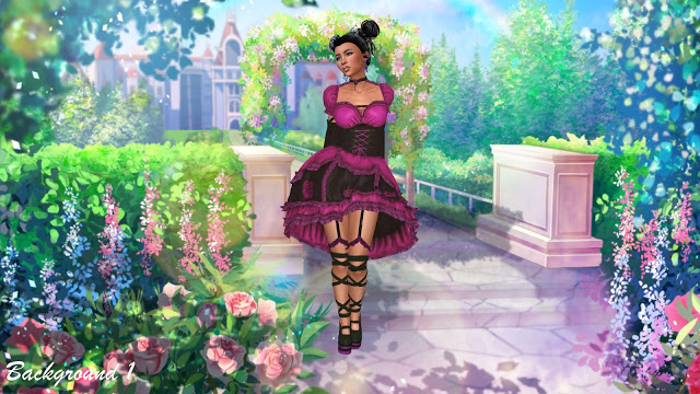 CAS Backgrounds   More Anime at Annett's Sims 4 Welt image 16915 Sims 4 Updates