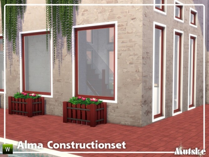Sims 4 Alma Construction set Part 6 by mutske at TSR