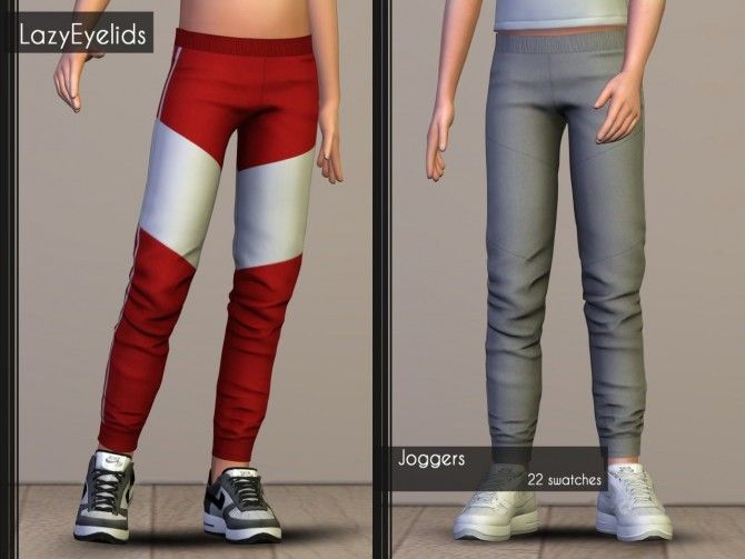 T shirt, Rolled up shorts, Hooded vest & Joggers for boys at LazyEyelids image 17117 670x503 Sims 4 Updates