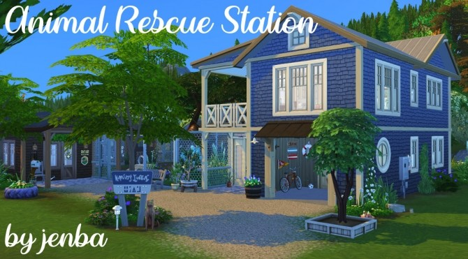 Animal Rescue Station at Jenba Sims image 1749 670x371 Sims 4 Updates