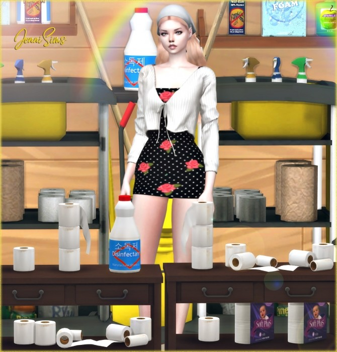 Sims 4 Stay Home Clutter 11 Items at Jenni Sims