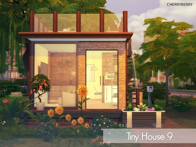 Sims 4 Tiny House A9 at Cherryberry