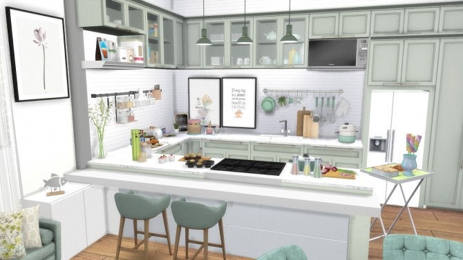 HAPPY EASTER KITCHEN LET´S GO PARTY at Dinha Gamer image 1783 670x377 Sims 4 Updates