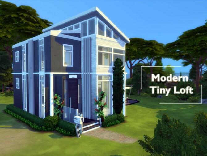 Modern Tiny Loft by simbunnyRT at TSR image 1790 670x503 Sims 4 Updates