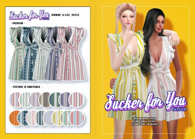 Sims 4 Sucker for you set at NEWEN
