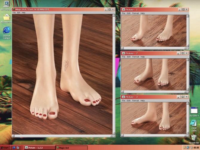 FEET 5V REMASTER at Magic bot image 1853 670x504 Sims 4 Updates