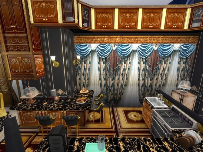 Sims 4 Wooden Rays Kitchen at Anna Quinn Stories