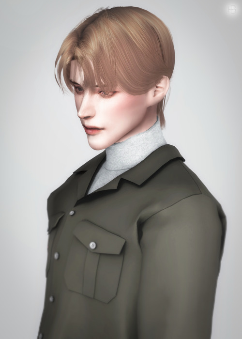 Sims 4 Doppio Hair at Lemon Sims 4