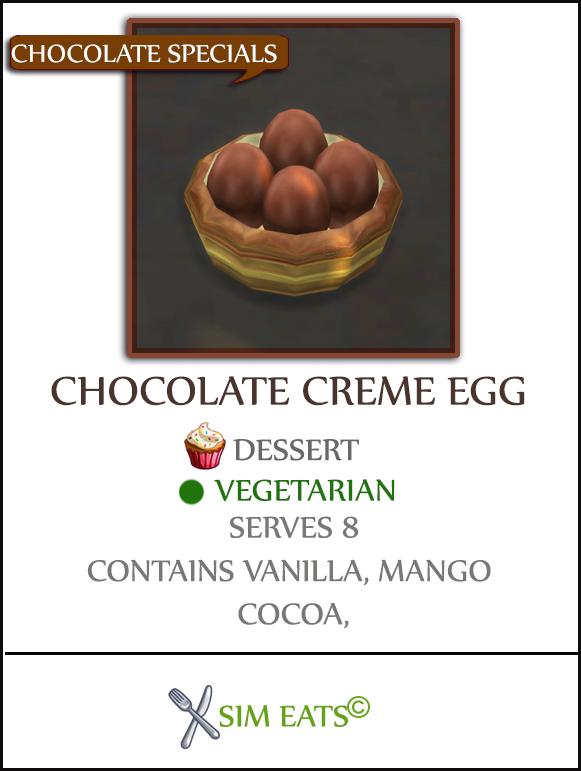 Sims 4 CHOCOLATE CREME EGG at Icemunmun