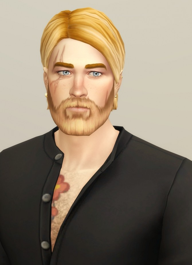 Shaggy Cutting Hair for M / V2 at Rusty Nail image 19111 670x922 Sims 4 Updates