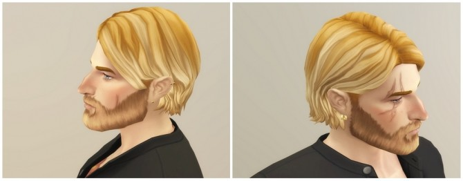 Shaggy Cutting Hair for M / V2 at Rusty Nail image 1934 670x262 Sims 4 Updates