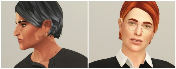 Shaggy Cutting Hair for M / V2 at Rusty Nail image 1944 670x263 Sims 4 Updates