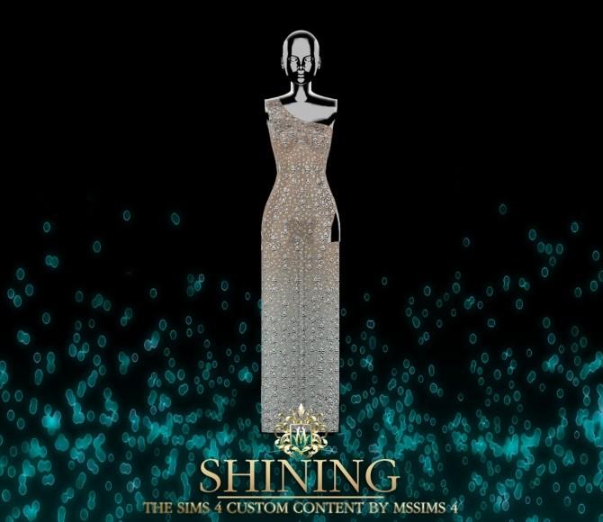 SHINING DRESS (P) at MSSIMS image 1953 670x580 Sims 4 Updates