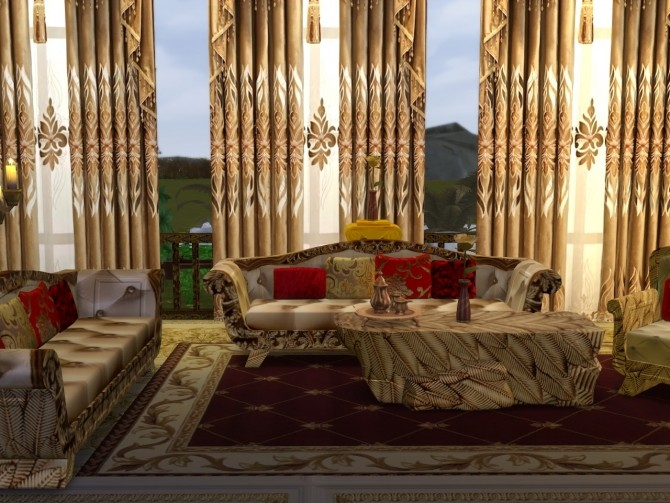 Wings To Fly Set Living Room at Anna Quinn Stories image 1956 670x503 Sims 4 Updates