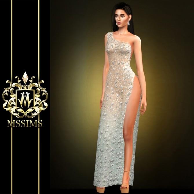SHINING DRESS (P) at MSSIMS image 1962 670x671 Sims 4 Updates