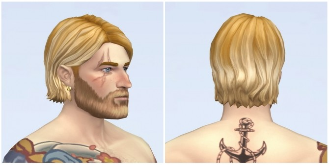 Shaggy Cutting Hair for M / V2 at Rusty Nail image 1974 670x337 Sims 4 Updates
