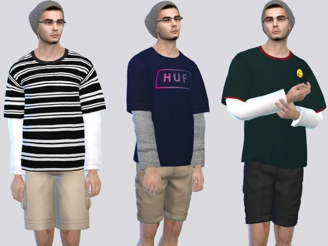 Sims 4 Sk8erBoi Shirts by McLayneSims at TSR