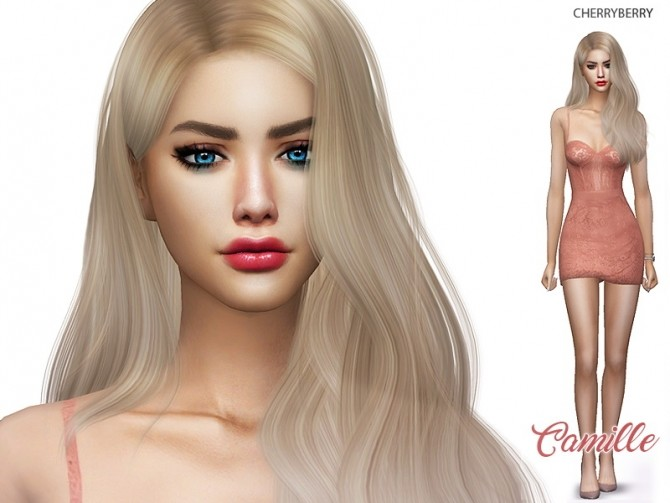 Sims 4 Camille at Cherryberry