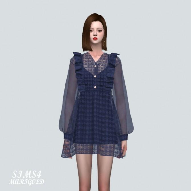 Angel Frill Mini Dress at Marigold image 20110 670x670 Sims 4 Updates