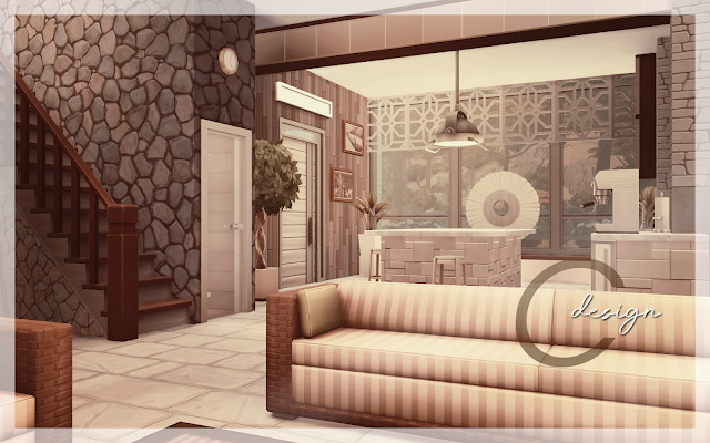 Sims 4 Modern Beach House at Cross Design