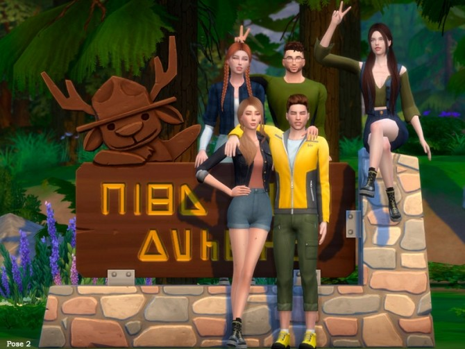 Camping Pose Pack by Beto ae0 at TSR image 2026 670x503 Sims 4 Updates