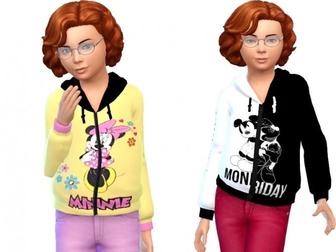 Sims 4 Mouse jacket at Louisa Creations4Sims