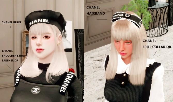 Dress, headband & beret at RIMINGs image 2072 670x394 Sims 4 Updates