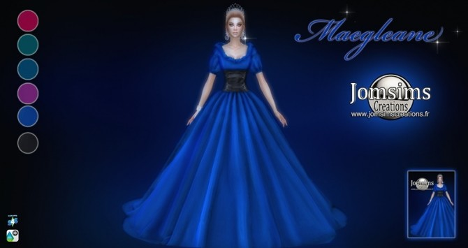 Maegleane dress at Jomsims Creations image 2092 670x355 Sims 4 Updates