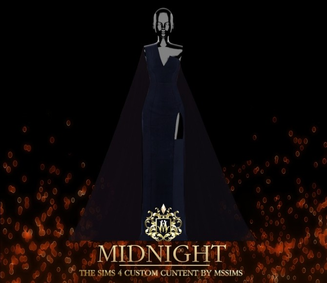 MIDNIGHT GOWN (P) at MSSIMS image 210 670x580 Sims 4 Updates