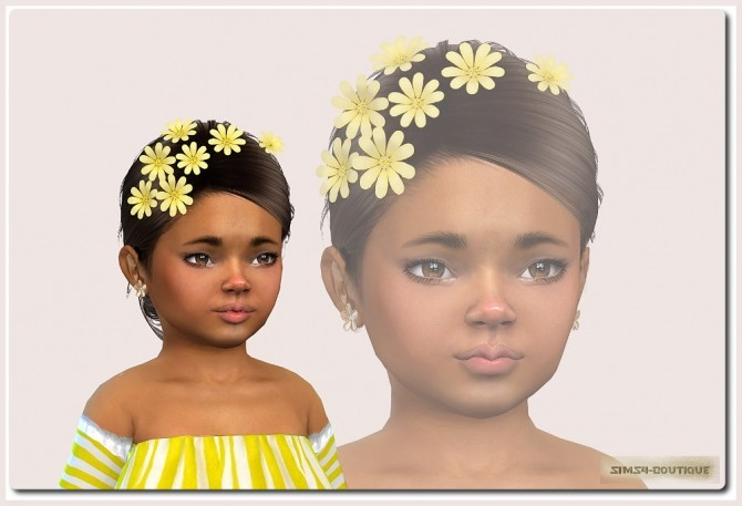 Sims 4 Suit for Toddler Girls TS4 at Sims4 Boutique