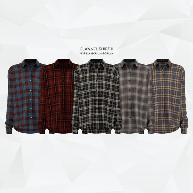 Flannel Shirt II at Gorilla image 2104 670x670 Sims 4 Updates