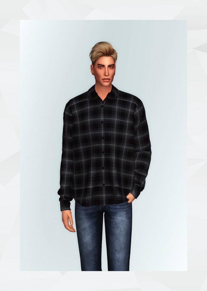 Flannel Shirt II at Gorilla image 2115 670x940 Sims 4 Updates